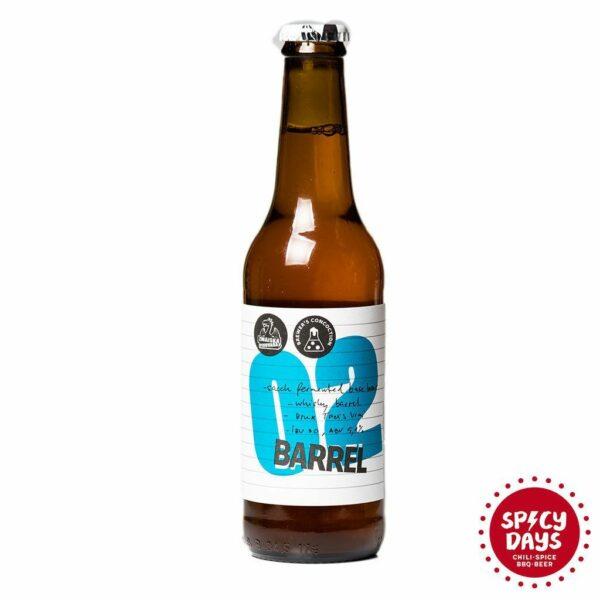Zmajska pivovara Barrel 02 0,33l
