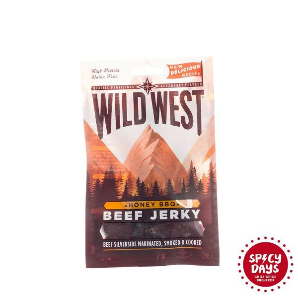 Wild West Honey BBQ Beef Jerky 35g 1