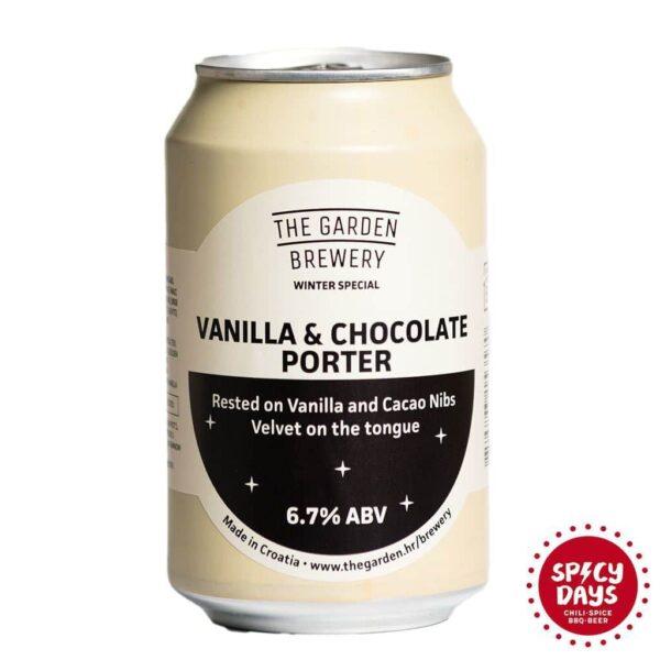 Garden Brewery Vanilla Chocolate porter lim 0,33l 1