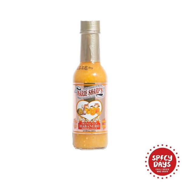 Marie Sharp's Orange Pulp Habanero Pepper Sauce 1