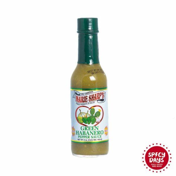 Marie Sharp's Green Habanero Pepper Sauce