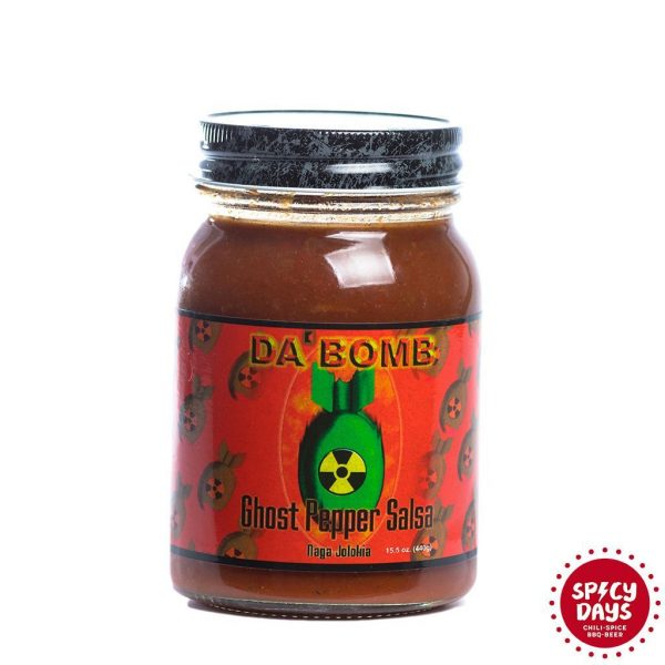Da Bomb Ghost Pepper salsa 440g 1