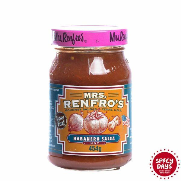 Mrs. Renfro's Habanero salsa 454g