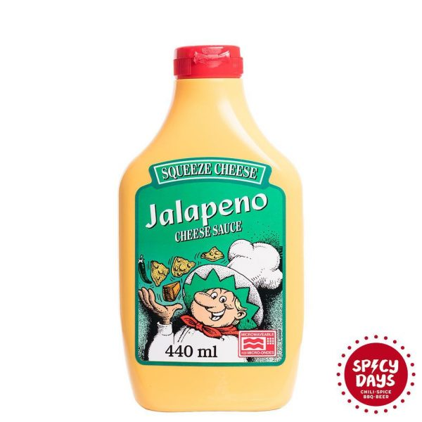 Jalapeno Squeeze Cheese Microwaveable umak