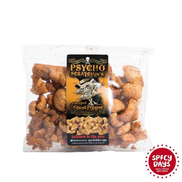 Psycho Naga Curried Pork Scratchin's Crackling 80g