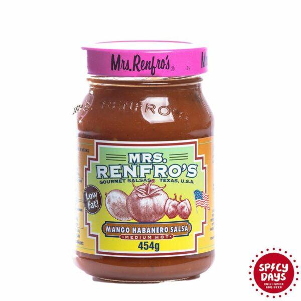 Mrs. Renfro's Mango Habanero salsa 454g 1