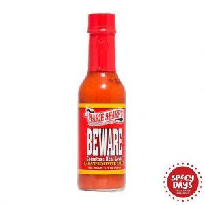 Marie Sharp's Beware Habanero Pepper Sauce