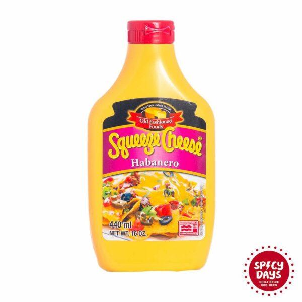 Habanero Squeeze Cheese Microwaveable umak 1