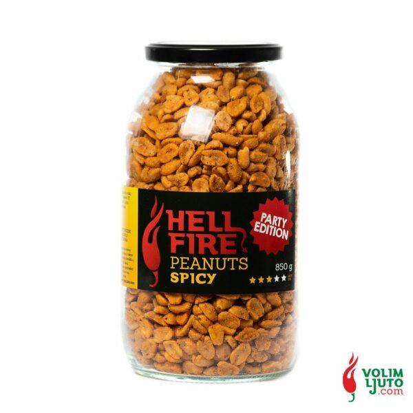 Hellfire Spicy Peanuts - party edition 850g Volim Ljuto 1