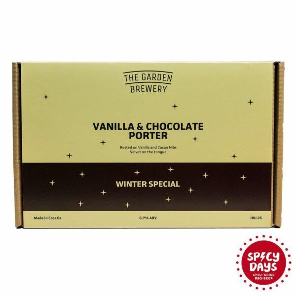 The Garden Brewery poklon paket 3 x Vanilla Chocolate Porter 1