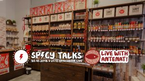 Spicy Talks S02E06 - LIVE with Antenat 3