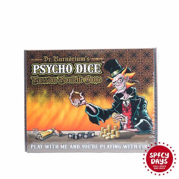 Psycho Dice Russian Roulette igra - obično pakiranje