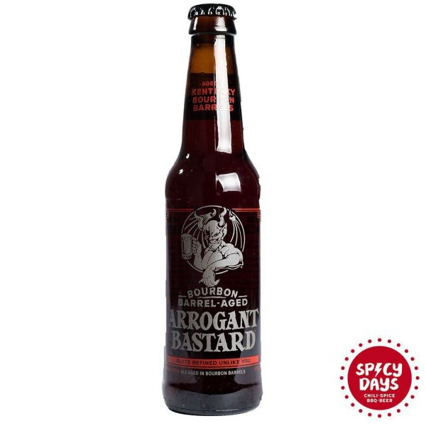 Stone Brewing Arrogant Bastard Ale Bourbon Barrel Aged 0,355l