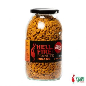 Hellfire Insane Peanuts - party edition 850g Volim Ljuto