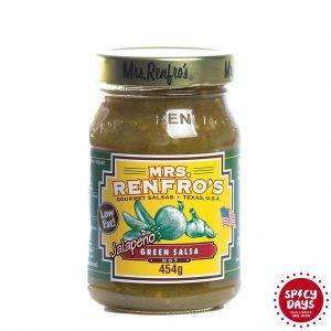 Mrs. Renfro's Jalapeno Green salsa 454g