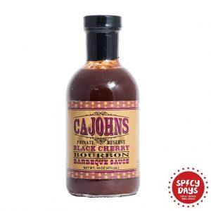 Cajohns Black Cherry Bourbon BBQ umak