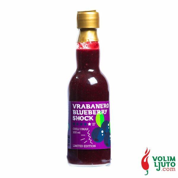 Vrabanero Blueberry Shock 100ml Volim Ljuto 1