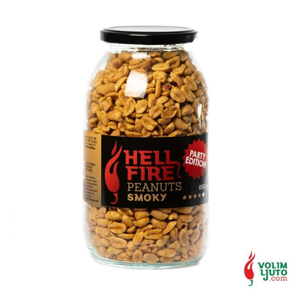 Hellfire Smoky Peanuts - party edition 850g Volim Ljuto 1