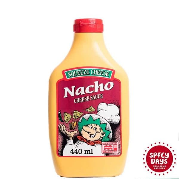 Nacho Squeeze Cheese Microwaveable umak