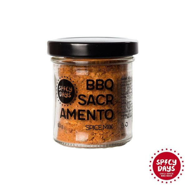 BBQ Sacramento spice mix 60g 1