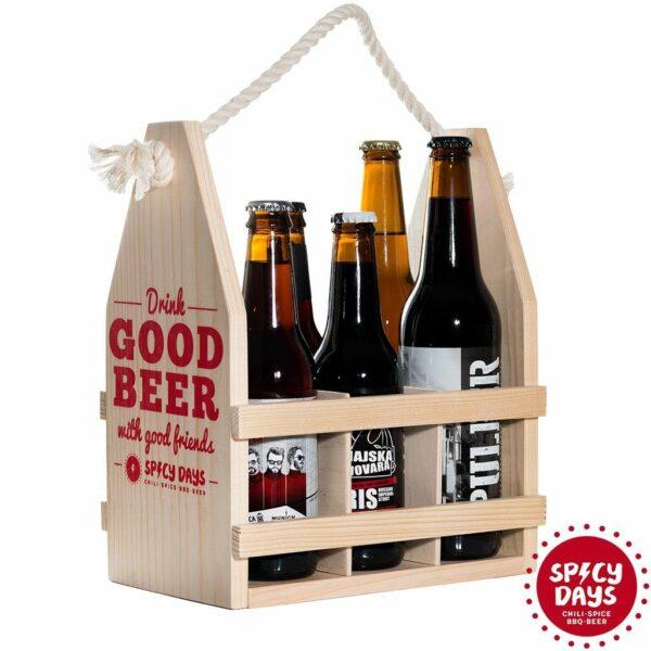 Drvena nosiljka za pivo 4