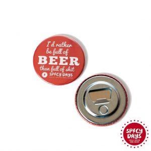 Full Of... otvarač za pivo