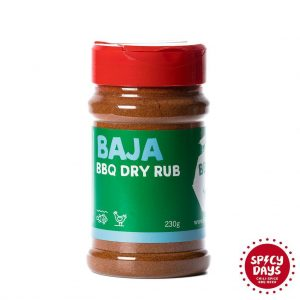 Baja BBQ Dry rub 230g mješavina začina BBQ Hot Yard