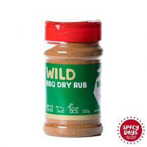 Wild BBQ Dry rub 250g mješavina začina BBQ Hot Yard