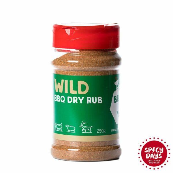 Wild BBQ Dry rub 250g mješavina začina BBQ Hot Yard 1