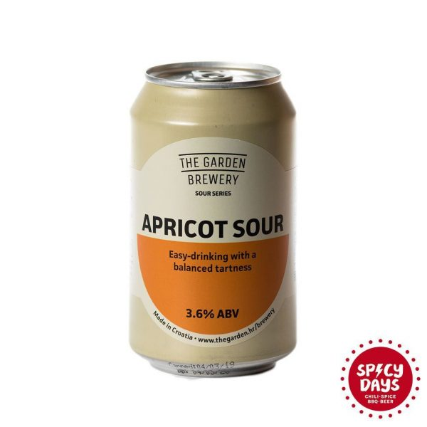 Garden Brewery Apricot Sour 0,33l 1