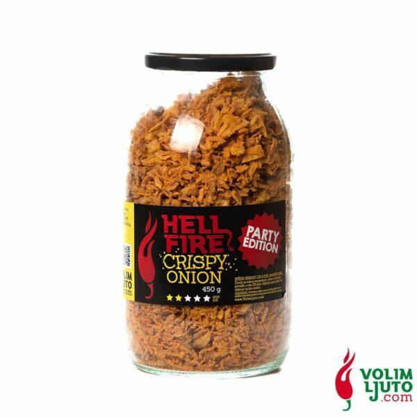 Hellfire Crispy Onion Party Edition 450g Volim Ljuto