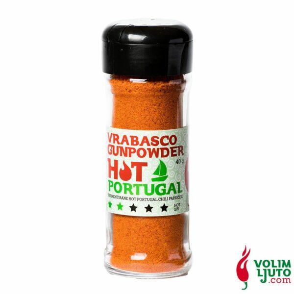 Vrabasco Gunpowder Hot Portugal 40g Volim Ljuto 1