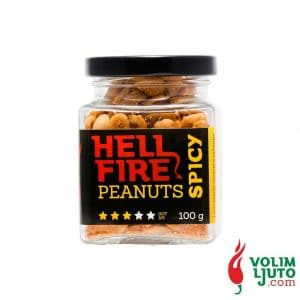Hellfire Spicy Peanuts Volim Ljuto