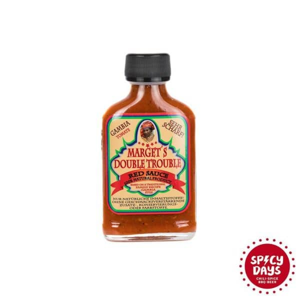 Marget's Double Trouble Red sauce ljuti umak 100ml 1