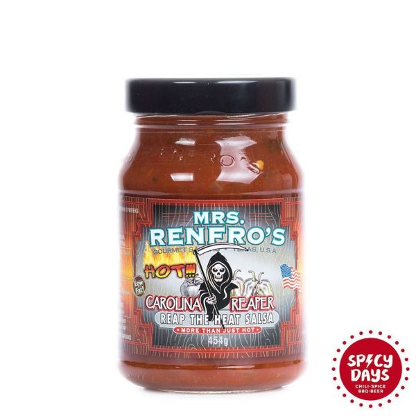 Mrs. Renfro's Carolina Reaper salsa 454g 3