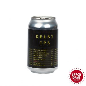 Hop Hooligans / Nova Runda - Delay IPA 0,33l 5