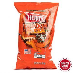 Herr's Deep Dish Pizza Curls 198g 3