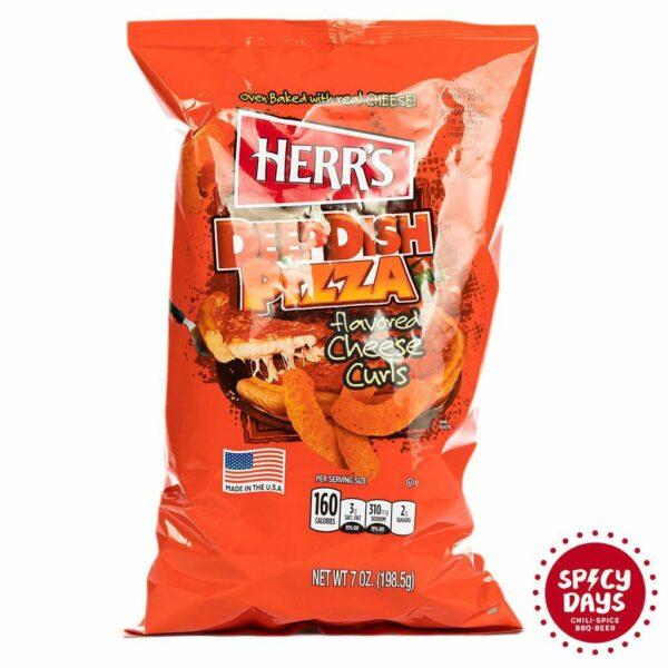Herr's Deep Dish Pizza Curls 198g 2