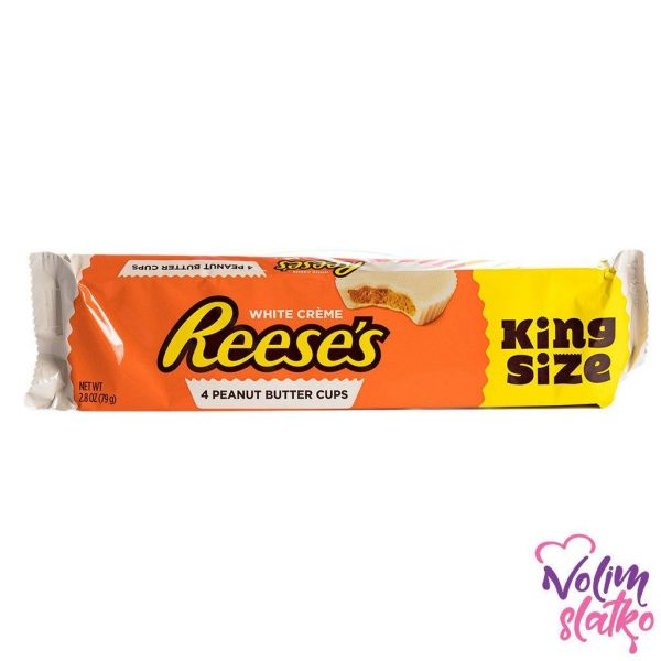 Reese's Peanut Butter White Cups King Size 79g 1