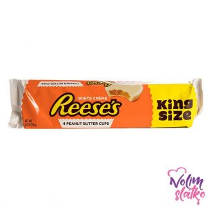 Reese's Peanut Butter White Cups King Size 79g 3
