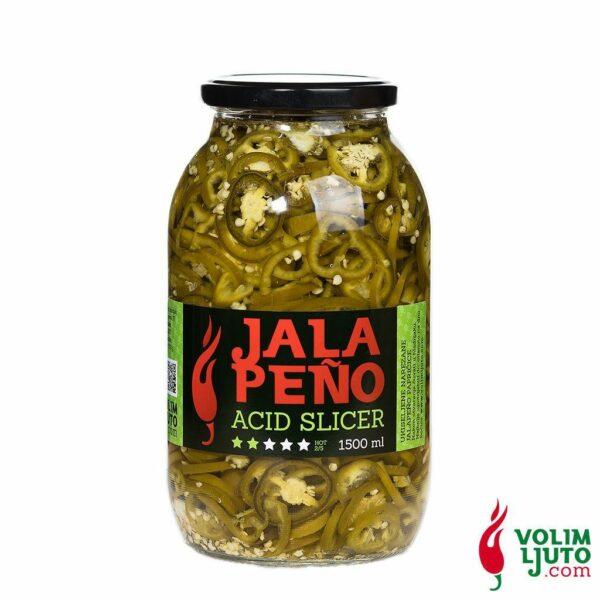 Jalapeno Acid Slicer 1500ml Volim Ljuto 1