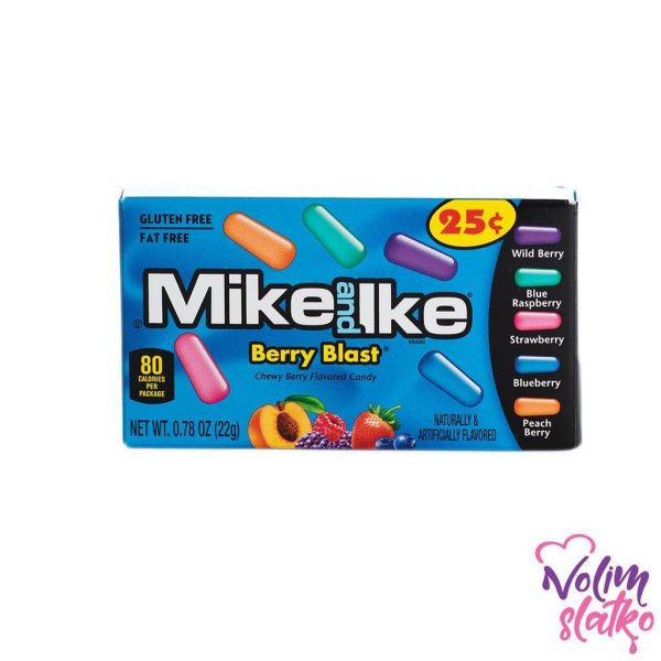Mike & Ike Berry Blast 22g 1