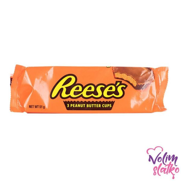 Reeses 3 Peanut Butter Cups 51g 2