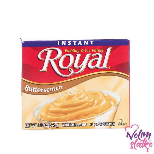 Royal Pudding Butterscotch 52,4g 1