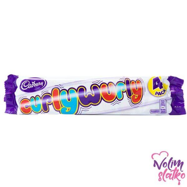 Cadbury Curly Wurly 4 Pack 4x26g 1