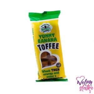 Walker's nonsuch Yummy Banana Toffee bars 50g