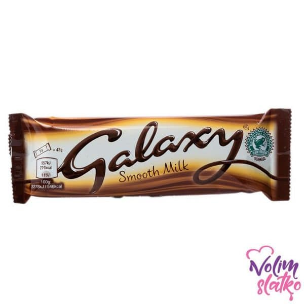 Galaxy Smooth Milk bar 42g 3