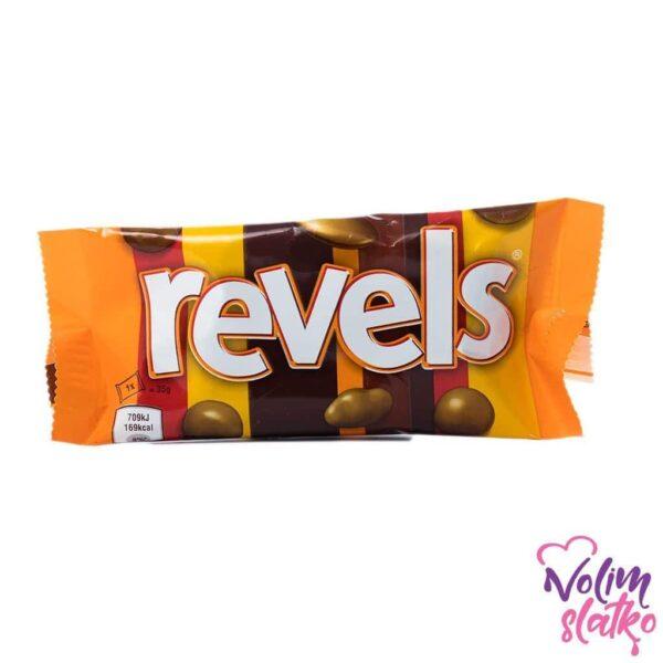 Mars Revels Chocolate Bag 35g 1