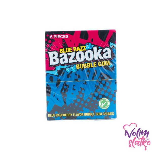 Bazooka Original Bubble gum - original/malina 33g 2