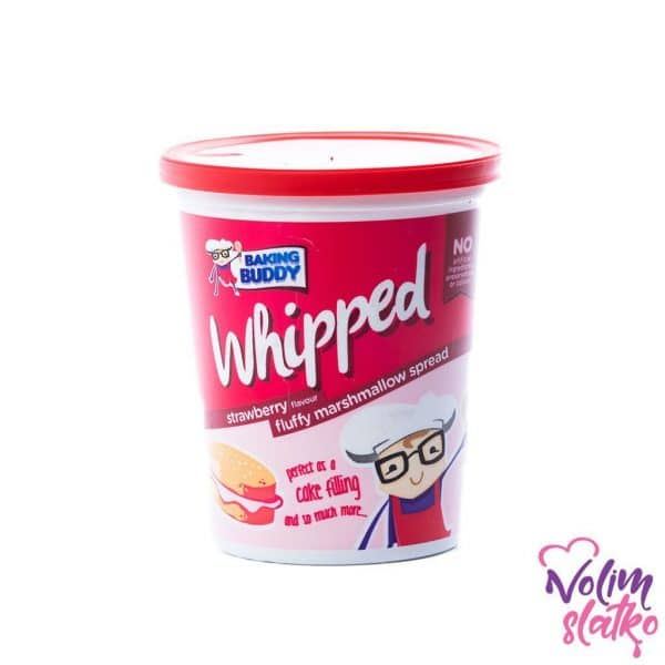 Baking buddy Whipped - Strawberry Marshmallow Spread 198g 1